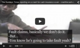 The Sundays Times | Crash for cash insurance scam