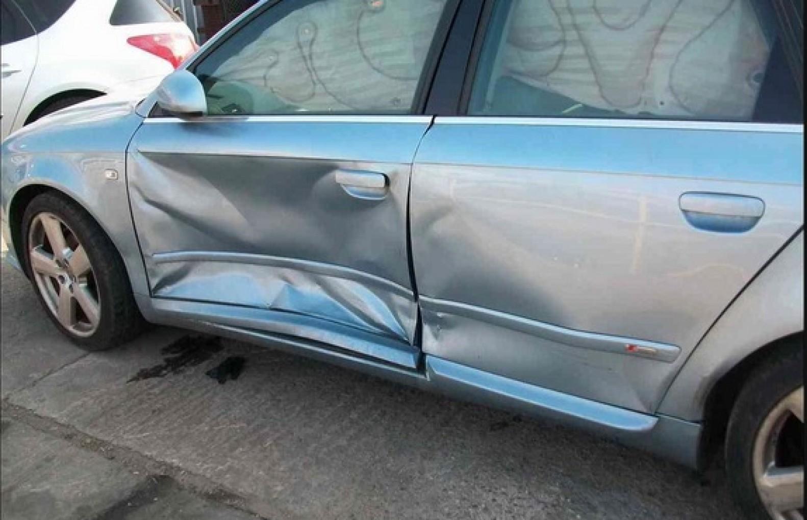 Balraj Singh Thumber Audi A4 side view