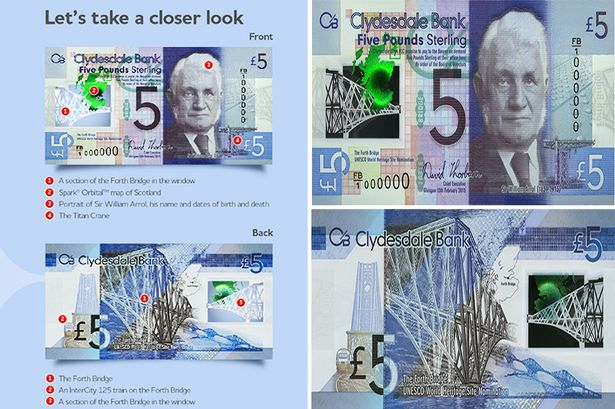 Polymer Banknote Scotland