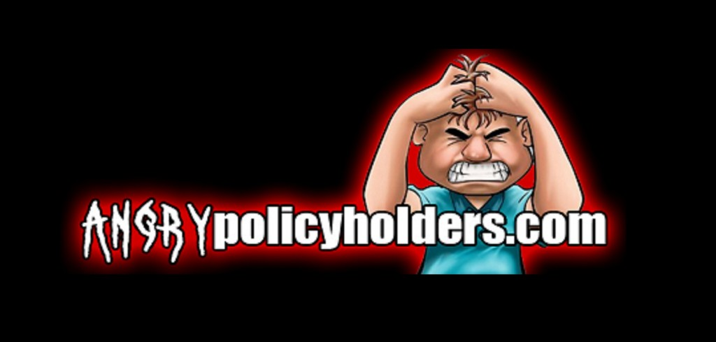 AngryPolicyholders website black